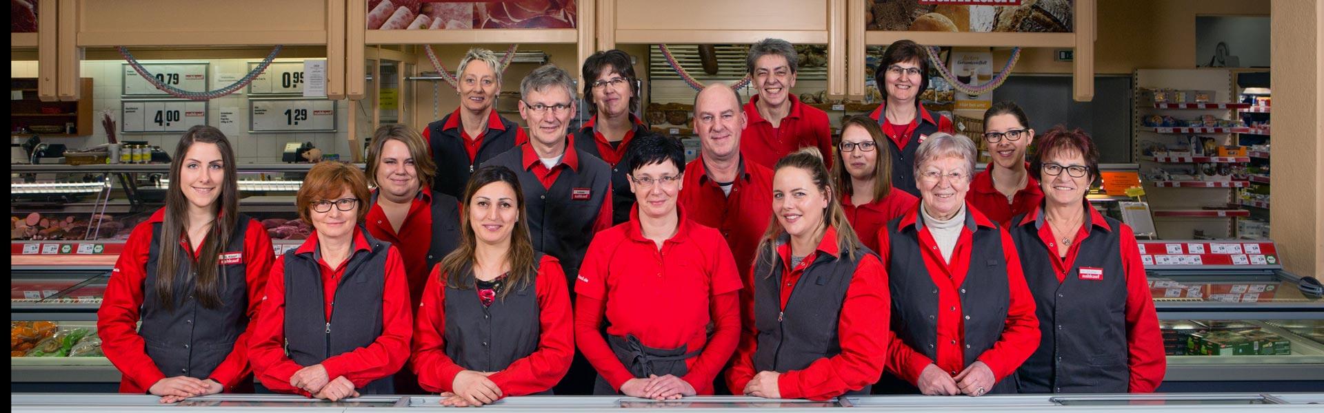 Das Team bei nahkauf Gruber