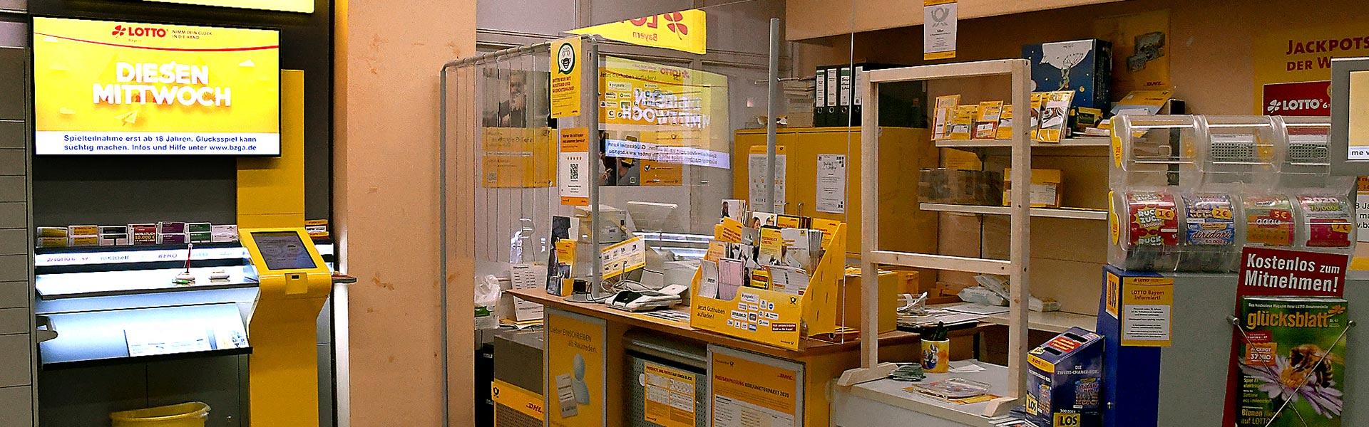 Lotto und DHL im nahkauf Gruber in Arnbruck